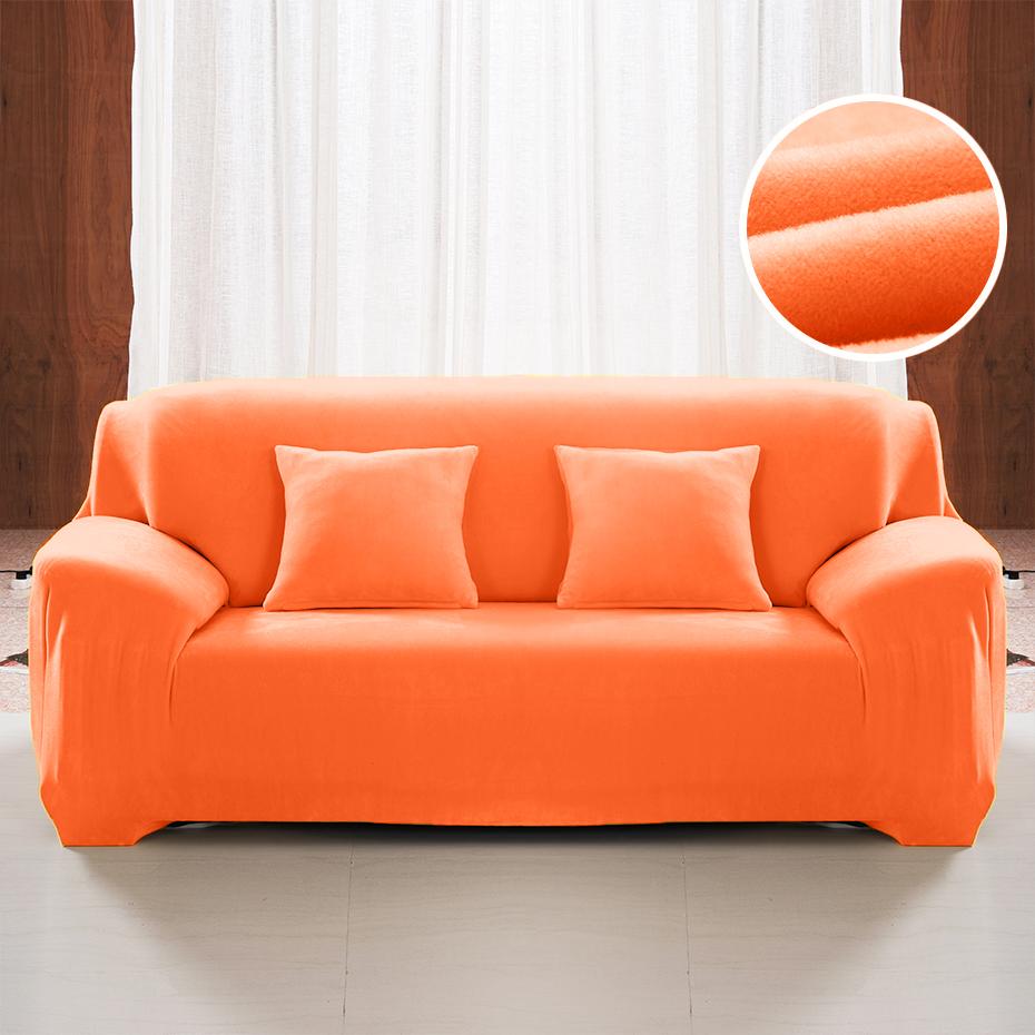 Bright Orange Sofa Cover - Premium Dining Chair Covers